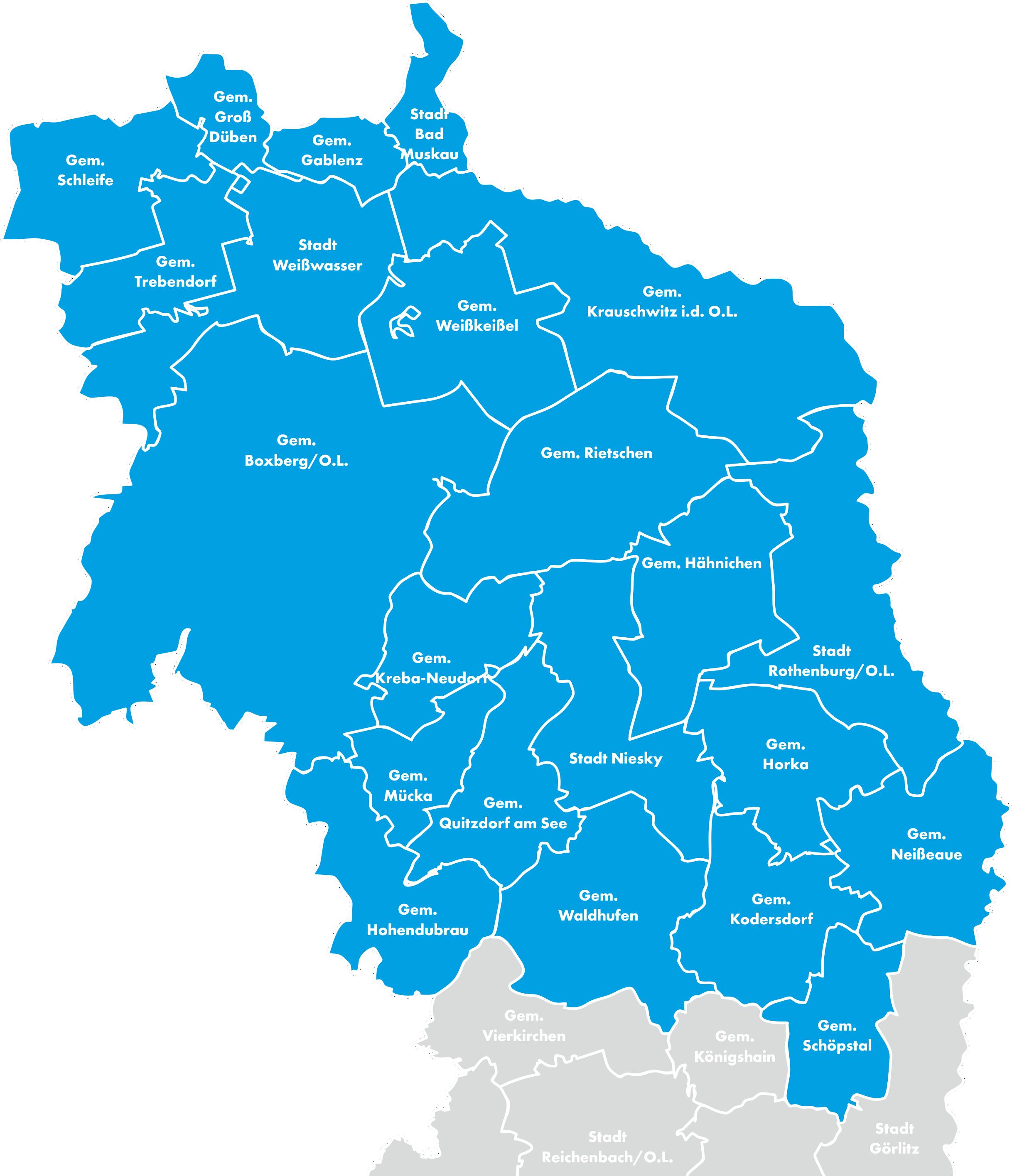 Kreiskarte Görlitz RG 1